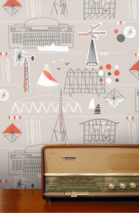 Mini Moderns wallpaper