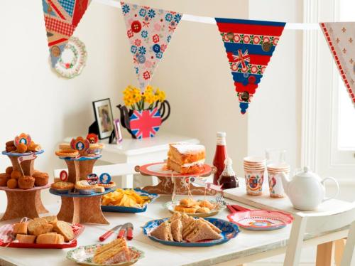 Royal wedding Street Party Range