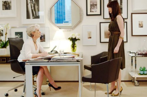 devil wears prada office