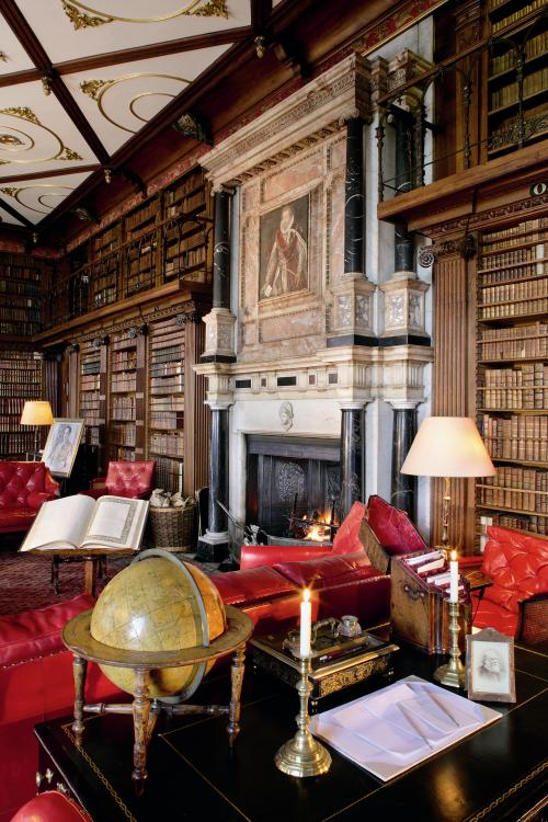 library hatfield house