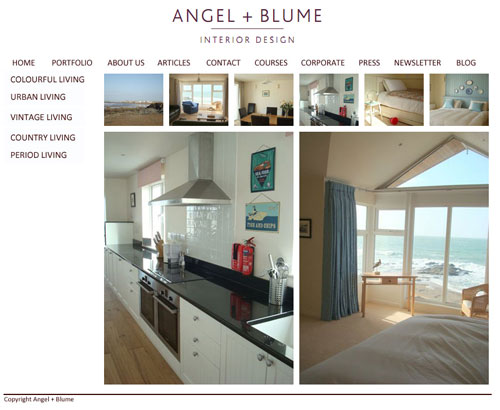 angel and blume website