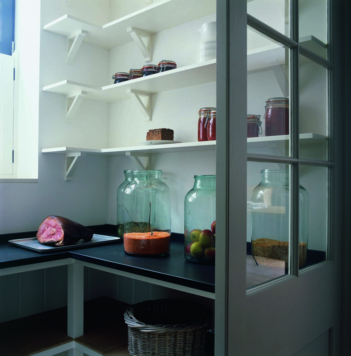 Kitchen Pantry Shelving Ideas: Boot Room
