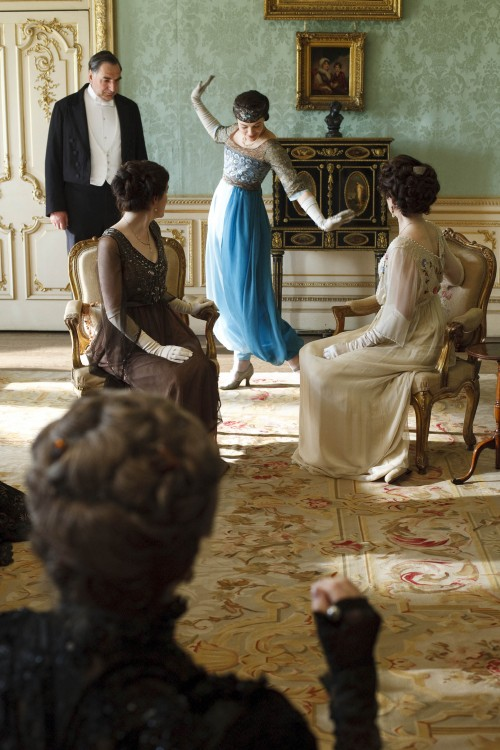 downton abbey interiors