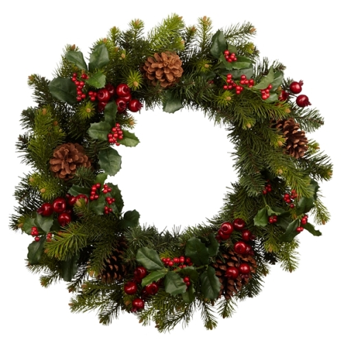 john lewis fruit and berry wreath