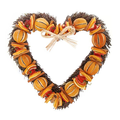Large Fruit Willow Heart
