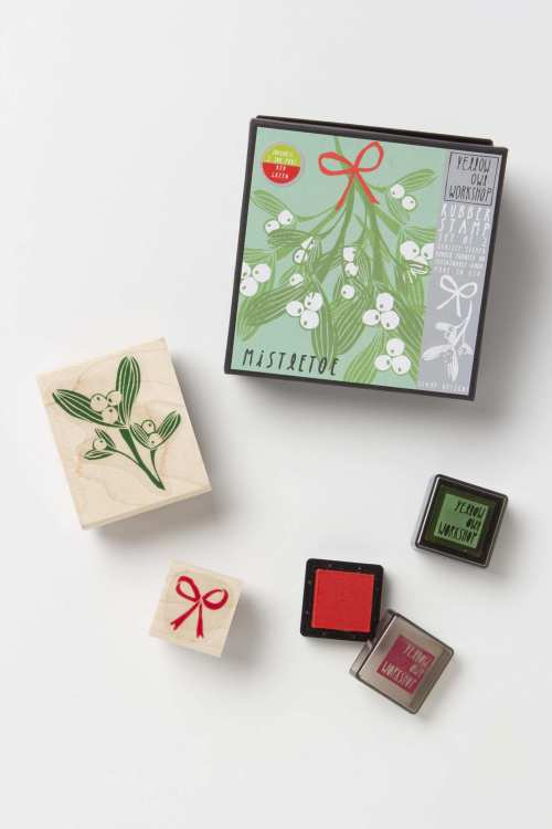misteltoe stamp set