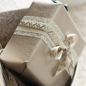 The White Company wrapping paper