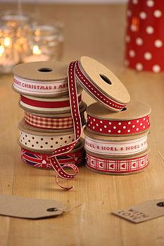 Xmas ribbons