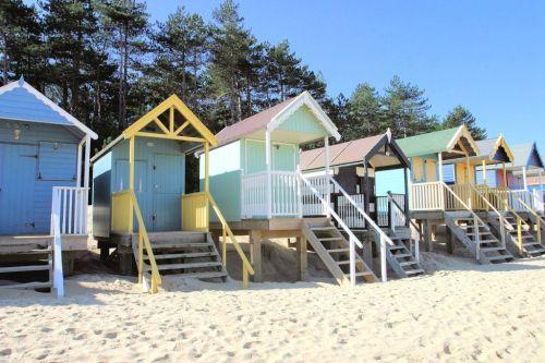 Sowerby beach huts