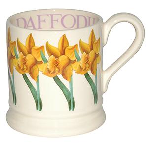 EB daffodil mug