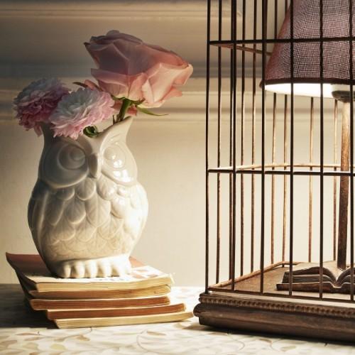 G & G Ernie Owl vase