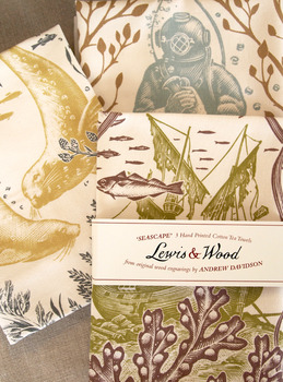 Lewis and Wood tea towels