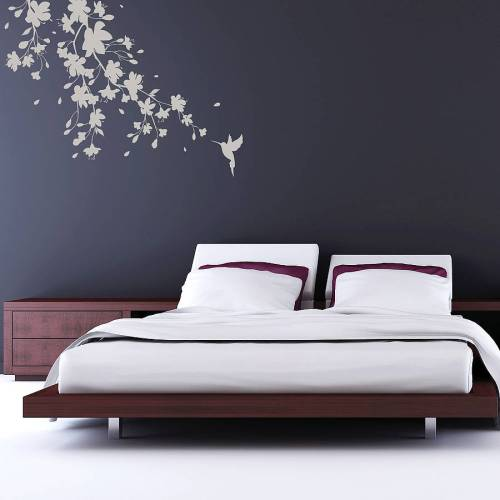 Spin collective blossom wall sticker