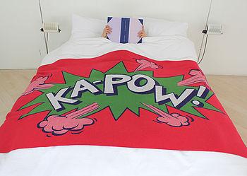 Roam Kapow blanket