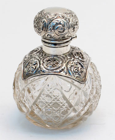 Perfume bottle - Alfies antiques