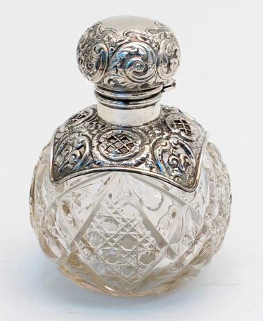 Perfume bottle - Alfies antiques