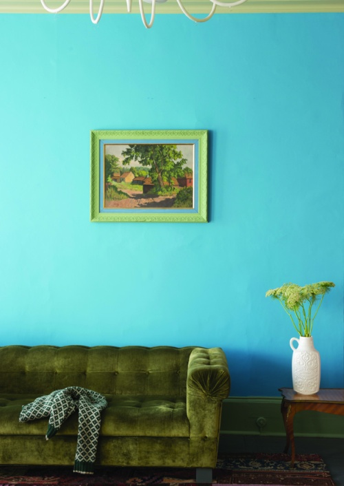 St Giles Blue™ No.280 Living Room