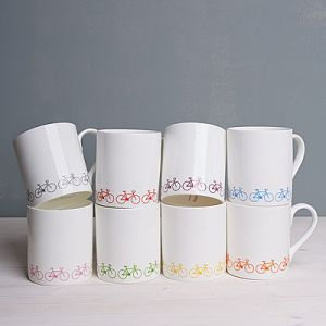 Ginger and French mugs