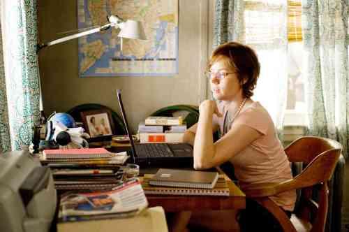 Julie's desk