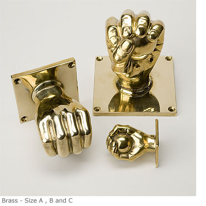 Charles Edwards hand and ball door and cupboard knobs