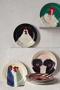Anthropologie cake plates