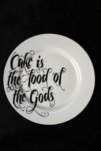 Rockett St George cake plate