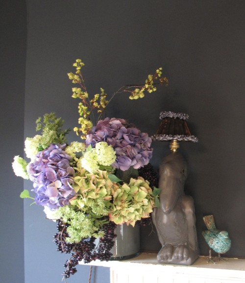 Abigail Ahern flower arrangement