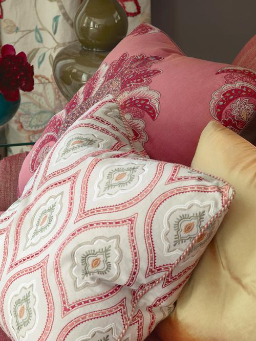 Colefax cushions