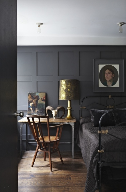 Farrow and Ball panelling colours