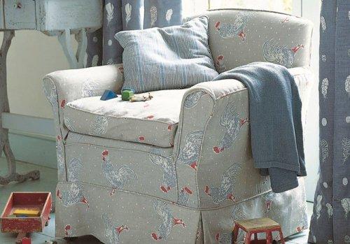Vanessa Arbuthnott Cockerel fabric