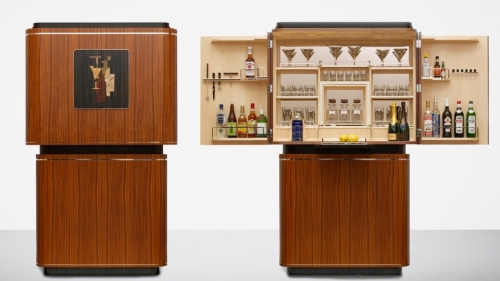 David Linley Tini time cocktail cabinet