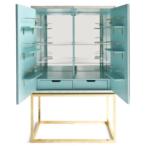 Jonathan Adler Delphne mirrored bar 2