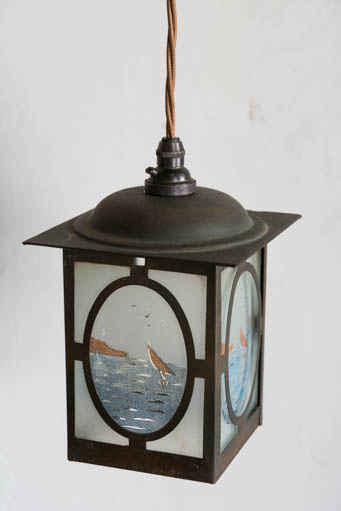 Retrouvius, Painted Copper Lantern