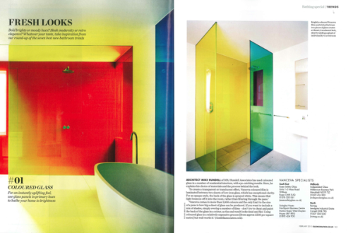 Elle Decoration, Coloured Glass
