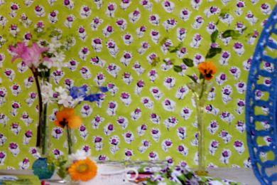 Designers Guild - Daisy Patch Wallpaper