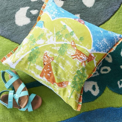 Designers Guild - Happy Campers Kids Cushion