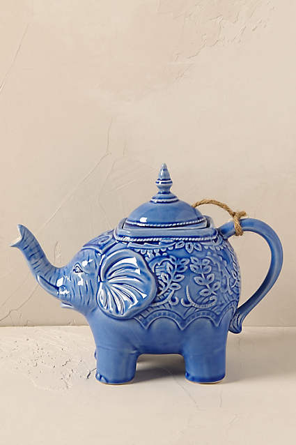 Anthropologie Losin Teapot