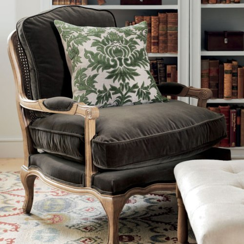 Oka Direct - Chantal Velvet Chair