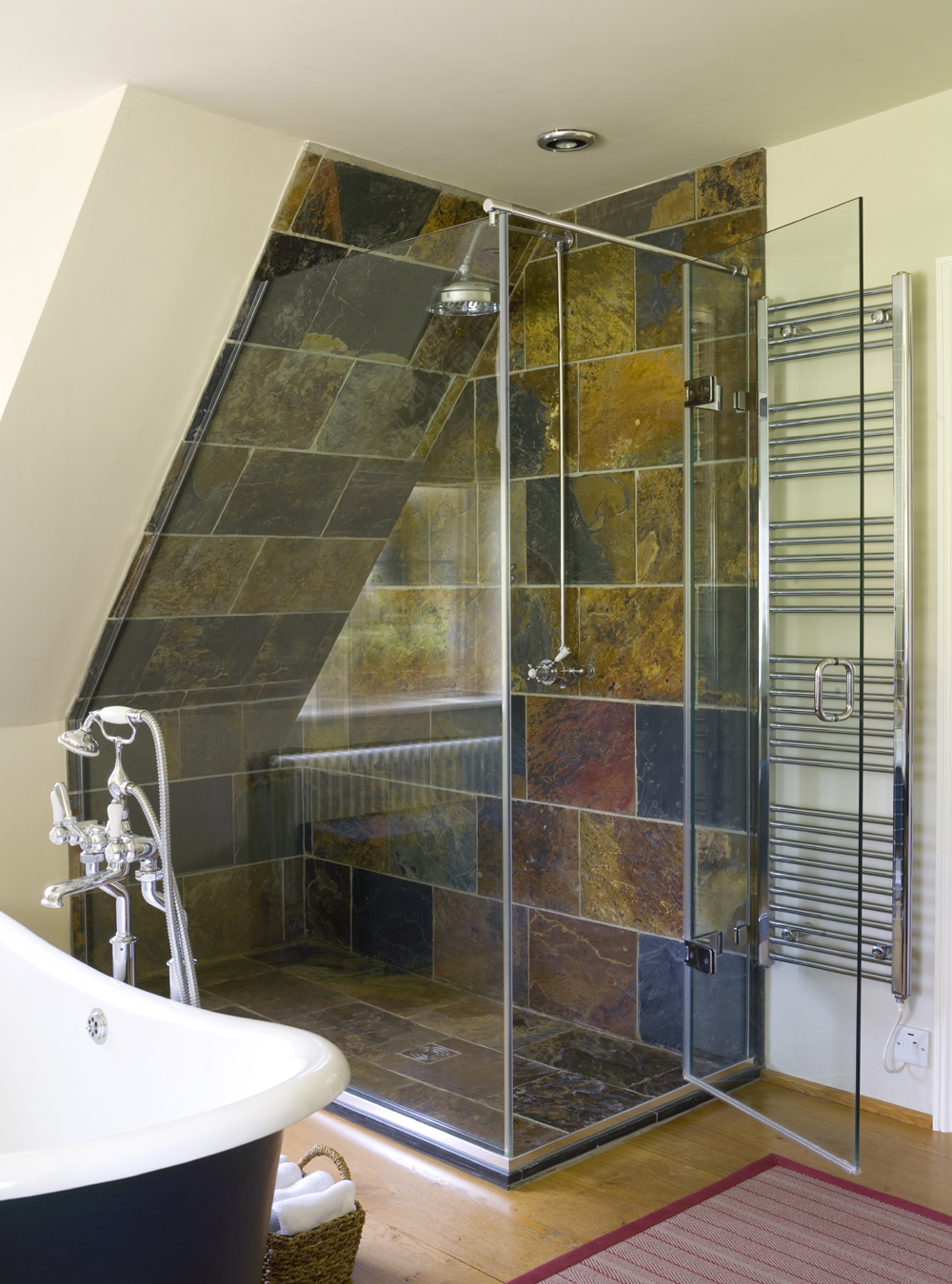 the shower lab |