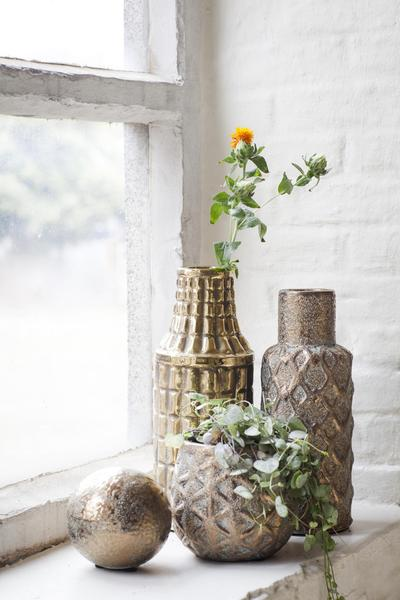 Gold Vases from The Estate Yard